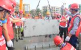 建设装配式建筑关键技能实操训练基地,为人才培养提供先进手段!