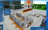 预制装配式建筑施工VR教学系统