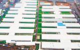 武汉雷神山医院完成增设钢结构屋面,已全面竣工